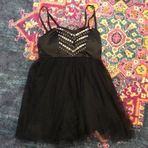 Hot Topic Black Studded Dress